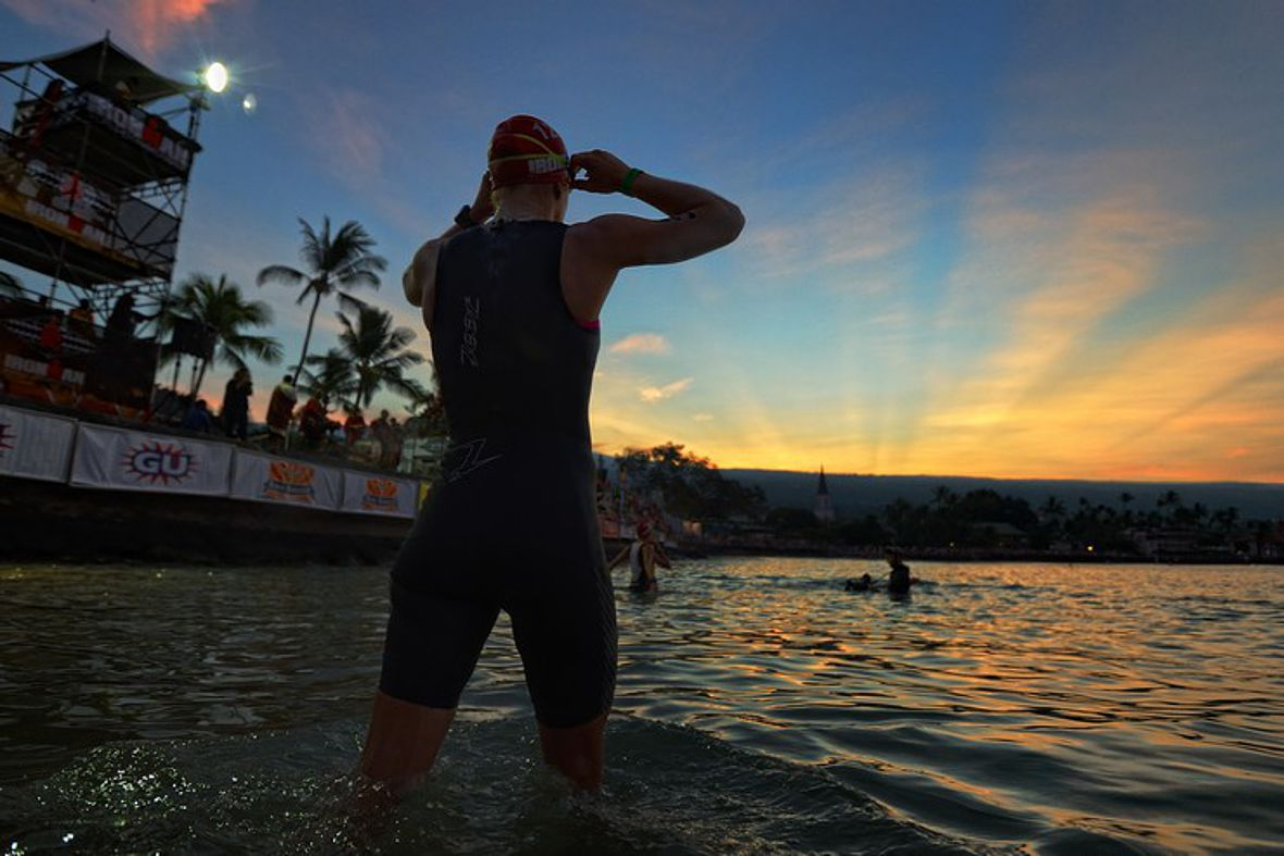 Raceday-Morning beim Ironman Hawaii 2013