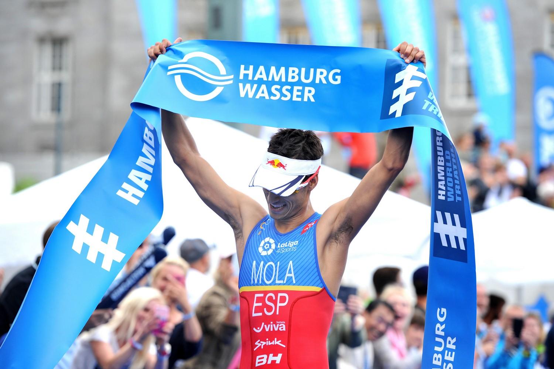 World Triathlon Series Mola Mit Drittem Sieg In Hamburg Tri2bcom