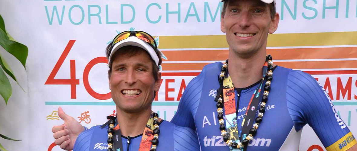 Kona-Agegrouper: Mathias Flunger und Michael Wetzel in der Race-Review