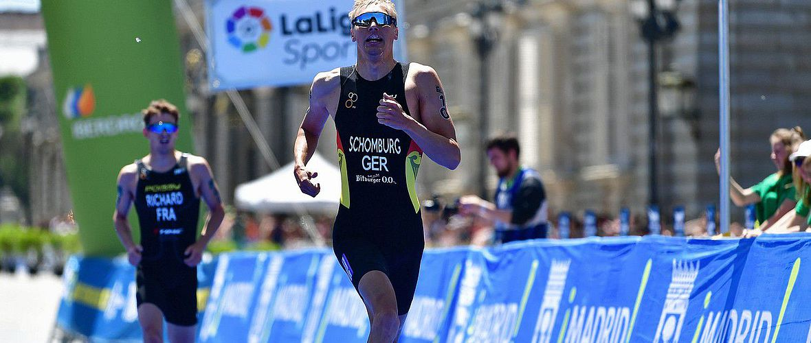 Schomburg Zehnter beim World Triathlon Series-Rennen in Leeds