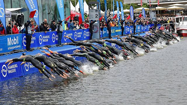 Hamburg: World Triathlon Series und Mixed-Team WM vorerst verschoben