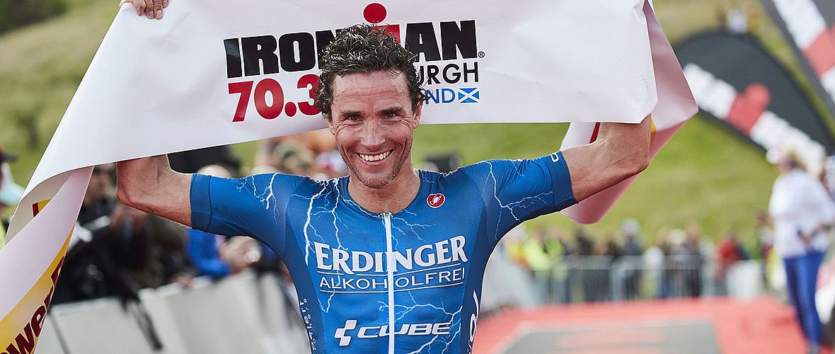 Ironman 70.3: Andreas Raelert gewinnt in Edinburgh
