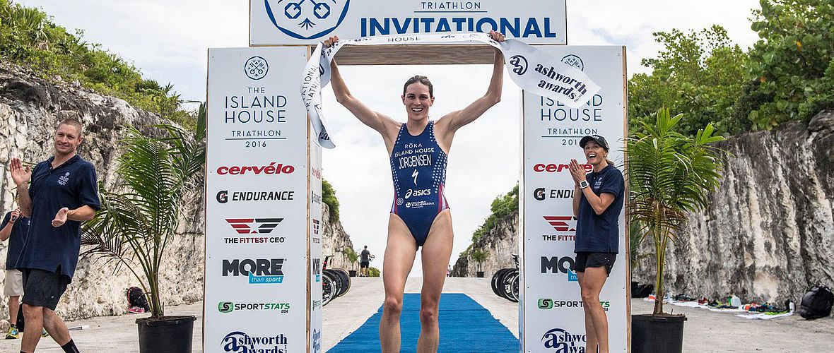 Island House Triathlon: Gesamtsieg an Richard Murray und Gwen Jorgensen