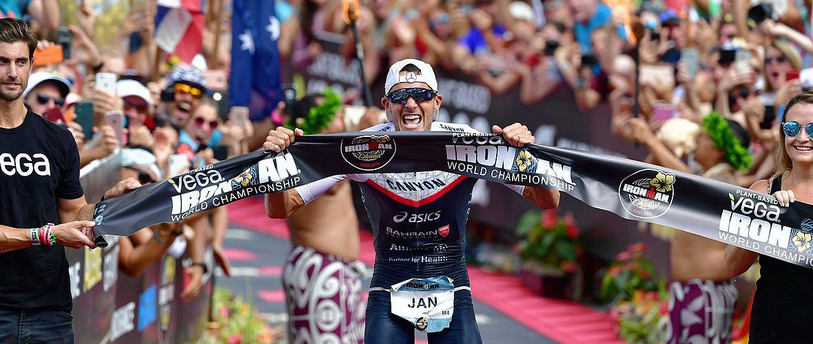Ironman Hawaii: Jan Frodenos dritter Triumph