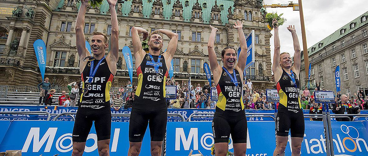 Mixed-WM: Bronze für deutsches Team in Hamburg